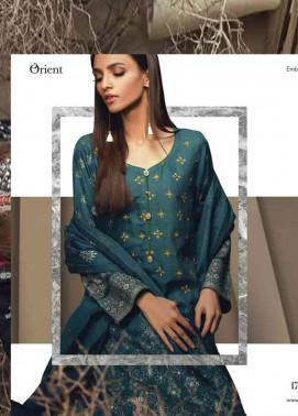 Orient Textile Embroidered Cottle Linen Unstitched 3 Piece Suit OT17W 218A