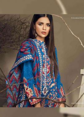 Orient Textile Embroidered Cottle Linen Unstitched 3 Piece Suit OT17W 225A