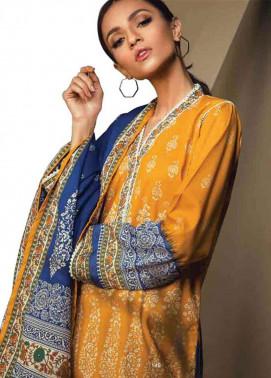 Orient Textile Embroidered Cottle Linen Unstitched 3 Piece Suit OT17W 231A