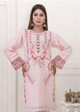 Oture Embroidered Cambric Stitched Kurtis OT20CW OKLE1S200035