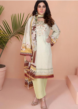 Oture Printed Lawn Stitched 3 Piece Suit OD3S200002