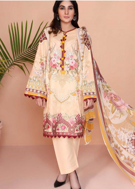 Oture Printed Lawn Stitched 3 Piece Suit OD3S200004