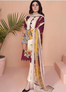 Oture Printed Lawn Stitched 3 Piece Suit OD3S200009