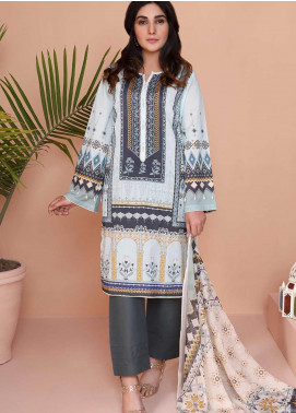 Oture Printed Lawn Stitched 3 Piece Suit OD3S200012