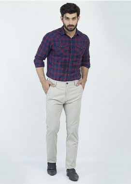 Oxford Cotton Formal Chinos for Men -  1953 FAWN