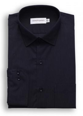 Oxford Cotton Formal Shirts for Men - Black SH 1452 BLACK