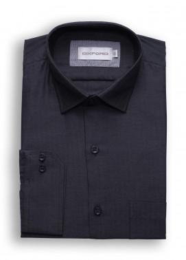 Oxford Cotton Formal Men Shirts - Dark Gray SH 1487 CHARCOAL