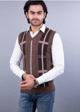 Oxford Lambswool Sleeveless Men Sweaters -  503 LMB S-L BROWN