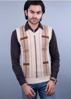 Oxford Lambswool Sleeveless Men Sweaters -  503 LMB S-L NATURAL