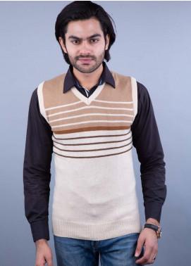 Oxford Lambswool Sleeveless Men Sweaters -  521 LMB S-L NATURAL