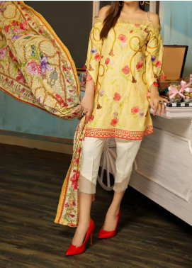 Panache by Puri Fabrics Embroidered Linen Unstitched 3 Piece Suit PCH20LN 04 - Winter Collection