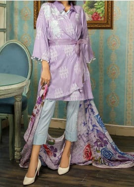 Panache by Puri Fabrics Embroidered Linen Unstitched 3 Piece Suit PCH20LN 08 - Winter Collection