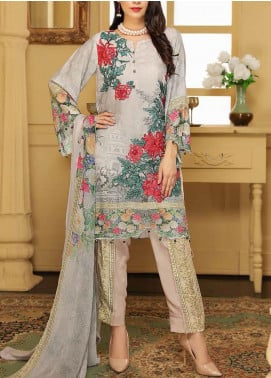 Panache by Puri Fabrics Embroidered Viscose Unstitched 3 Piece Suit PE20PF D-08 - Winter Collection
