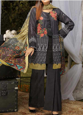 Panache by Puri Fabrics Embroidered Viscose Unstitched 3 Piece Suit PE20PF-2 D-08 - Festive Collection