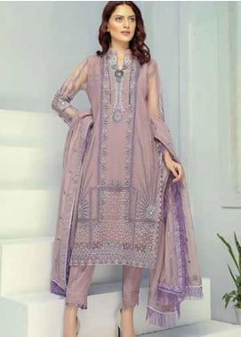 Panache by Puri Fabrics Embroidered Net Unstitched 3 Piece Suit PCH20W 04 - Wedding Collection