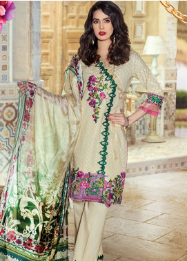 Panache Embroidered Lawn Unstitched 3 Piece Suit PND19L 1 - Spring / Summer Collection