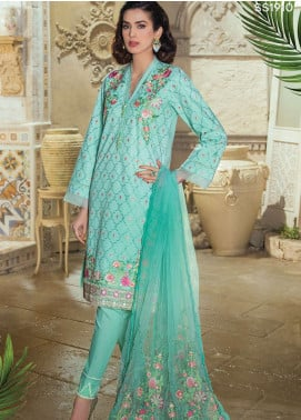 Panache Embroidered Lawn Unstitched 3 Piece Suit PND19L 10 - Spring / Summer Collection