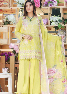 Panache by Puri Fabrics Embroidered Lawn Unstitched 3 Piece Suit PF20P 10 - Summer Collection