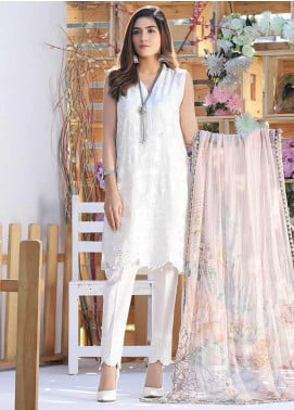 Panache by Puri Fabrics Embroidered Lawn Unstitched 3 Piece Suit PF20P 2 - Summer Collection