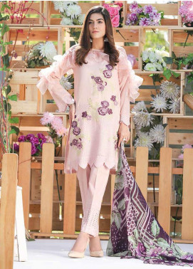 Panache by Puri Fabrics Embroidered Lawn Unstitched 3 Piece Suit PF20P 4 - Summer Collection