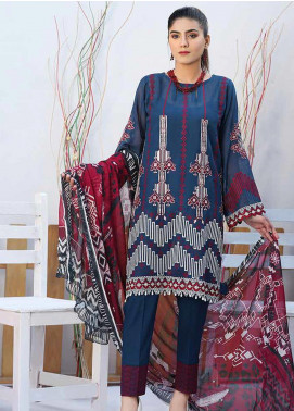 Panache by Puri Fabrics Embroidered Lawn Unstitched 3 Piece Suit PF20P 6 - Summer Collection