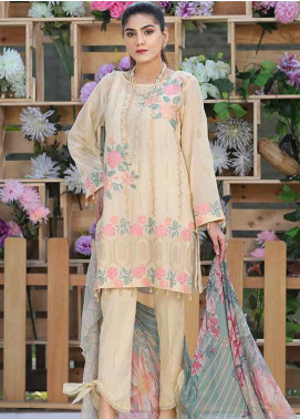 Panache by Puri Fabrics Embroidered Lawn Unstitched 3 Piece Suit PF20P 7 - Summer Collection