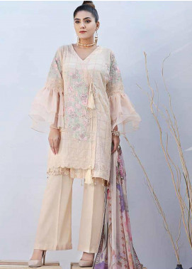 Panache by Puri Fabrics Embroidered Lawn Unstitched 3 Piece Suit PF20P 9 - Summer Collection
