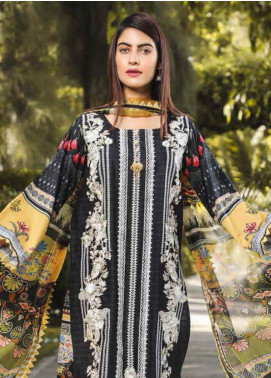 Peridot Embroidered Lawn Unstitched 3 Piece Suit PD19F 10A - Festive Collection
