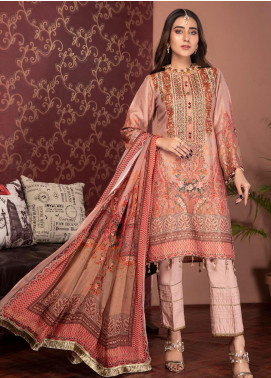 Phulkari by Mohagni Embroidered Jacquard Unstitched 3 Piece Suit MO20PH 01 - Formal Collection