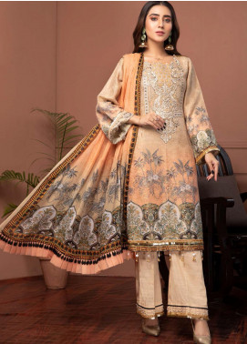 Phulkari by Mohagni Embroidered Jacquard Unstitched 3 Piece Suit MO20PH 03 - Formal Collection