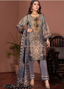 Phulkari by Mohagni Embroidered Jacquard Unstitched 3 Piece Suit MO20PH 04 - Formal Collection