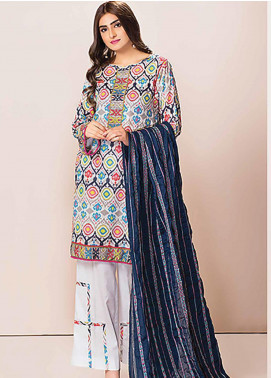 Phulkari by Taana Baana Embroidered Lawn Unstitched 3 Piece Suit TB20P PH-1386 - Spring / Summer Collection