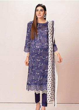 Phulkari by Taana Baana Embroidered Lawn Unstitched 3 Piece Suit TB20P PH-1387 - Spring / Summer Collection