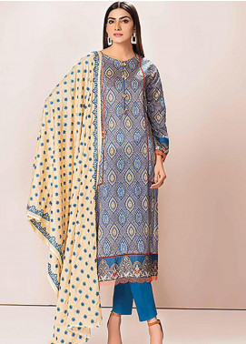 Phulkari by Taana Baana Embroidered Lawn Unstitched 3 Piece Suit TB20P PH-1388 - Spring / Summer Collection