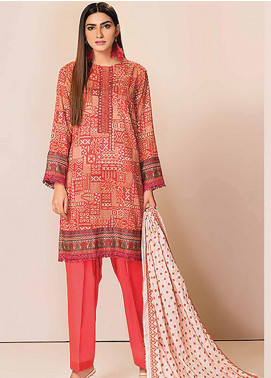 Phulkari by Taana Baana Embroidered Lawn Unstitched 3 Piece Suit TB20P PH-1389 - Spring / Summer Collection
