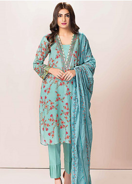 Phulkari by Taana Baana Embroidered Lawn Unstitched 3 Piece Suit TB20P PH-1390 - Spring / Summer Collection