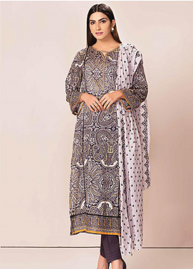 Phulkari by Taana Baana Embroidered Lawn Unstitched 3 Piece Suit TB20P PH-1391 - Spring / Summer Collection