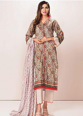 Phulkari by Taana Baana Embroidered Lawn Unstitched 3 Piece Suit TB20P PH-1392 - Spring / Summer Collection