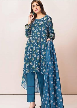 Phulkari by Taana Baana Embroidered Lawn Unstitched 3 Piece Suit TB20P PH-1393 - Spring / Summer Collection