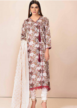 Phulkari by Taana Baana Embroidered Lawn Unstitched 3 Piece Suit TB20P PH-1395 - Spring / Summer Collection