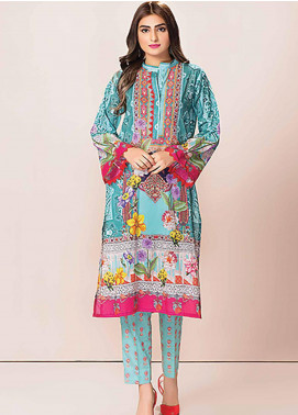 Phulkari by Taana Baana Embroidered Lawn Unstitched 2 Piece Suit TB20P PH-1418 AD - Spring / Summer Collection