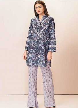 Phulkari by Taana Baana Embroidered Lawn Unstitched 2 Piece Suit TB20P PH-1424 D - Spring / Summer Collection