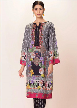 Phulkari by Taana Baana Embroidered Lawn Unstitched 2 Piece Suit TB20EF 1418BD - Eid Collection