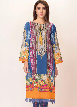 Phulkari by Taana Baana Embroidered Lawn Unstitched 2 Piece Suit TB20EF 1419BD - Eid Collection