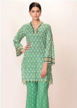 Phulkari by Taana Baana Embroidered Lawn Unstitched 2 Piece Suit TB20EF 1421BD - Eid Collection