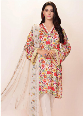 Phulkari by Taana Baana Embroidered Lawn Unstitched 3 Piece Suit TB20EF 1457 - Eid Collection