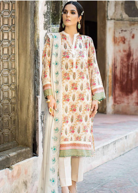 Phulkari by Taana Baana Embroidered Lawn Unstitched 3 Piece Suit TB20EF 1459 - Eid Collection