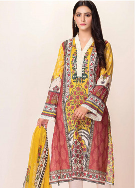 Phulkari by Taana Baana Printed Lawn Unstitched 2 Piece Suit TB20EF 1472T - Eid Collection
