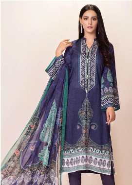 Phulkari by Taana Baana Printed Lawn Unstitched 2 Piece Suit TB20EF 1473T - Eid Collection