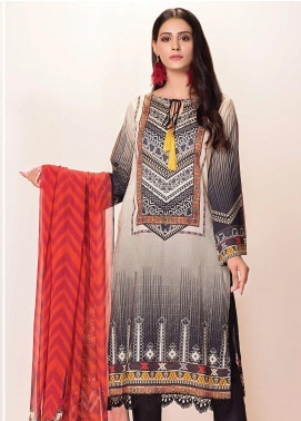 Phulkari by Taana Baana Printed Lawn Unstitched 2 Piece Suit TB20EF 1474T - Eid Collection